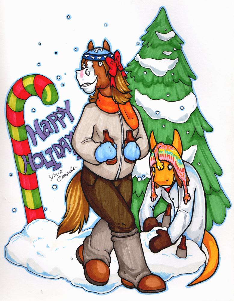 Happy Holidays by Crazy-Dragon