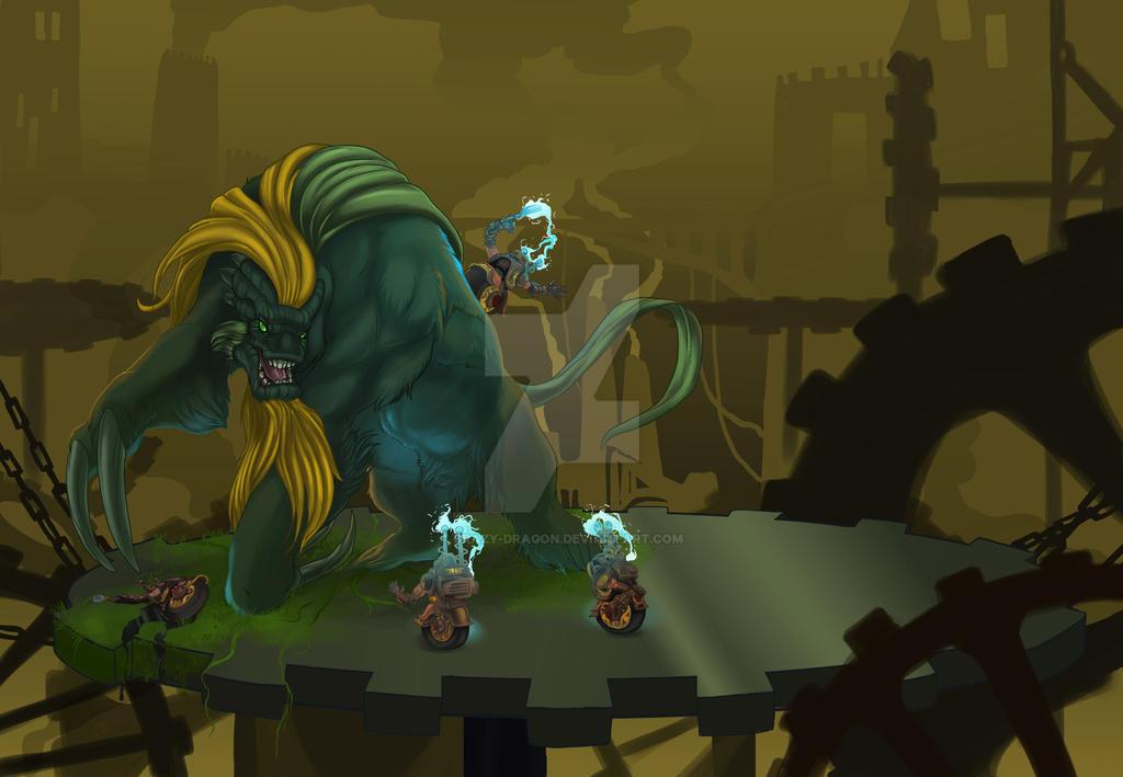 Green Goliath by Crazy-Dragon