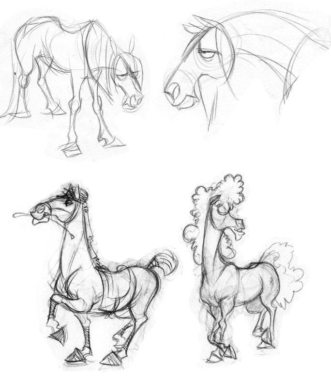 Moar Horses by Crazy-Dragon