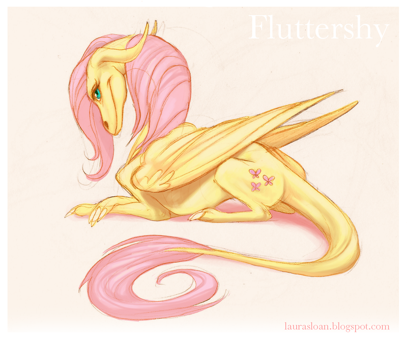 Fluttershy by Crazy-Dragon