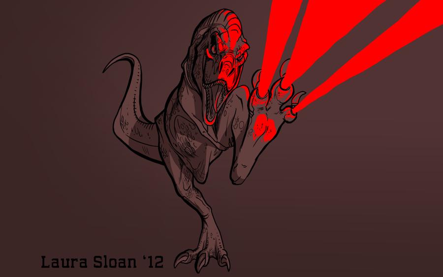 Laser Dino by Crazy-Dragon