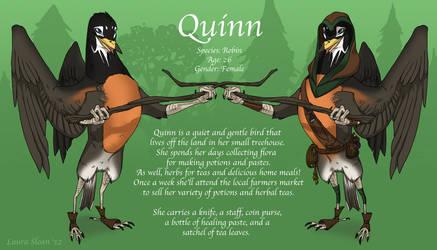Quinn by Crazy-Dragon