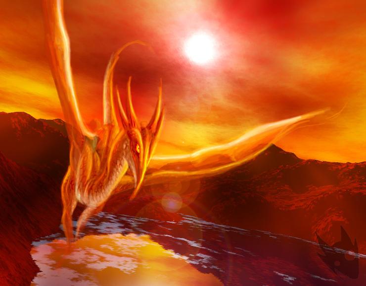 Spirit Dragon by Crazy-Dragon
