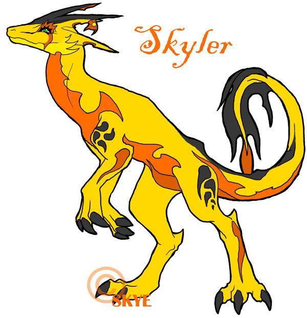 Skyler by Crazy-Dragon