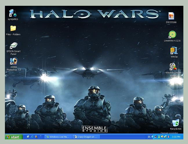 Desktop Screen by Crazy-Dragon