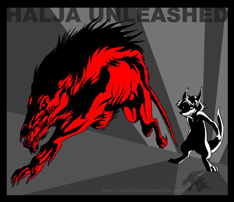 Halja Unleashed by Crazy-Dragon