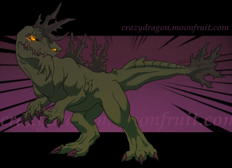 Godzilla, DB Style by Crazy-Dragon