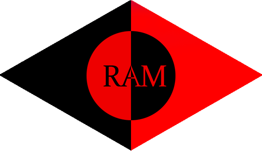 ram logo v3 red and black diamond by brotherram on deviantart rh brotherram deviantart com logo black bay red red and black logo b