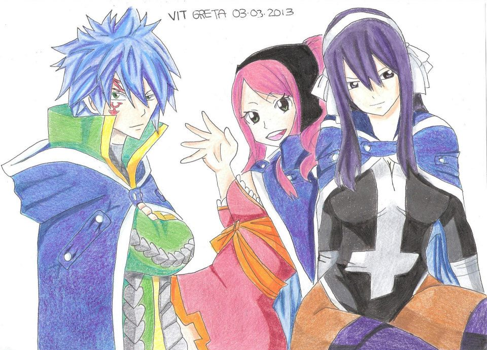 Jellal, Meredy and Ultear by Jelly9614 on DeviantArt