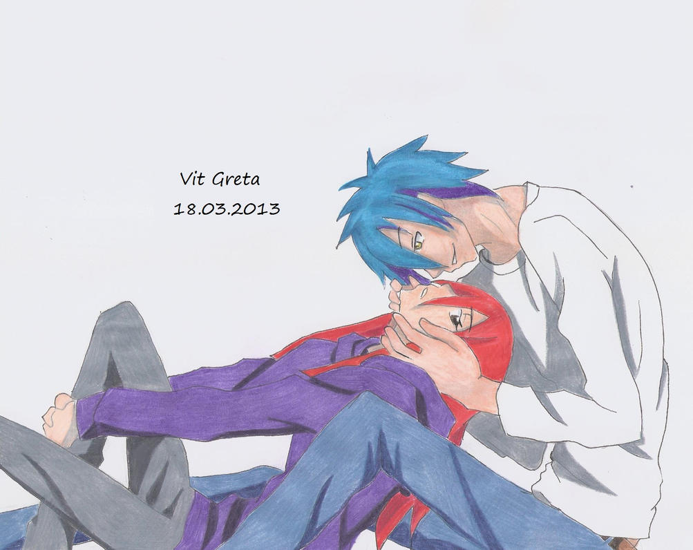 Jellal and Erza by Jelly9614 on DeviantArt