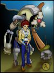 Alyx and Dog - HL2