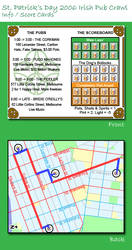 St. Pats 2006 Pub Crawl Info by DustyMcg