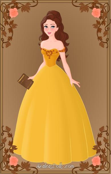 Ouat belle yellow dress