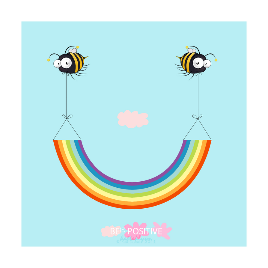 Bee Positive by KaTT-a-KlysM