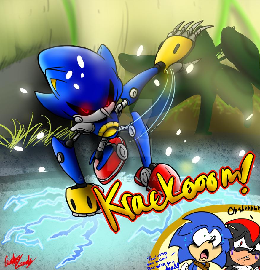 Metal Sonic Boom Baby By Invdrscar On Deviantart
