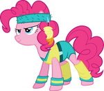 Exercise Pinkie Pie