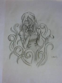 Ancient Beast: Miss Creeper- Sketch