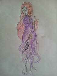 Ancient Beast: Abolished-Sketch: Female (2)