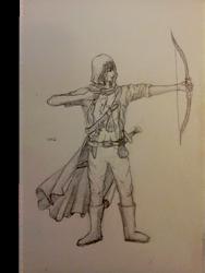 Ancient Beast: Bounty Hunter (1) - Archer Sketch