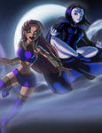 Starfire/Raven Fanfic cover