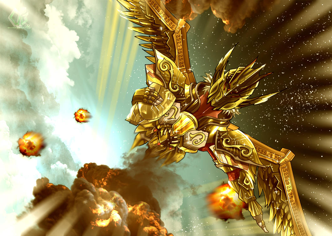 Saint Seiya Legend of the sanctuary by eduardosecolin