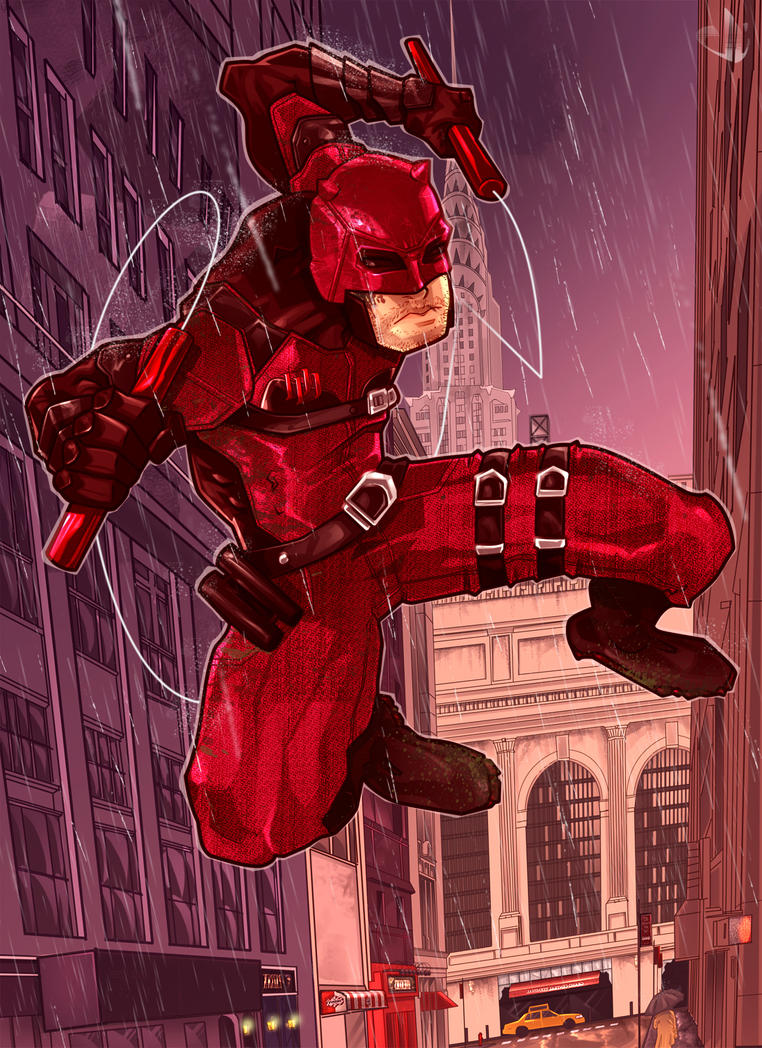 Daredevil Netflix by eduardosecolin
