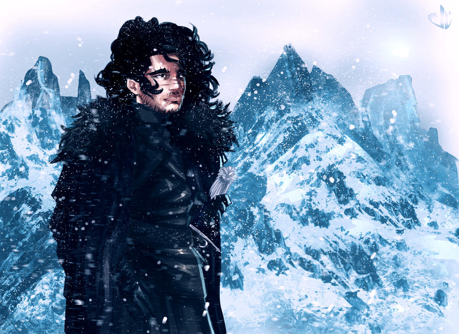 Jon Snow by eduardosecolin