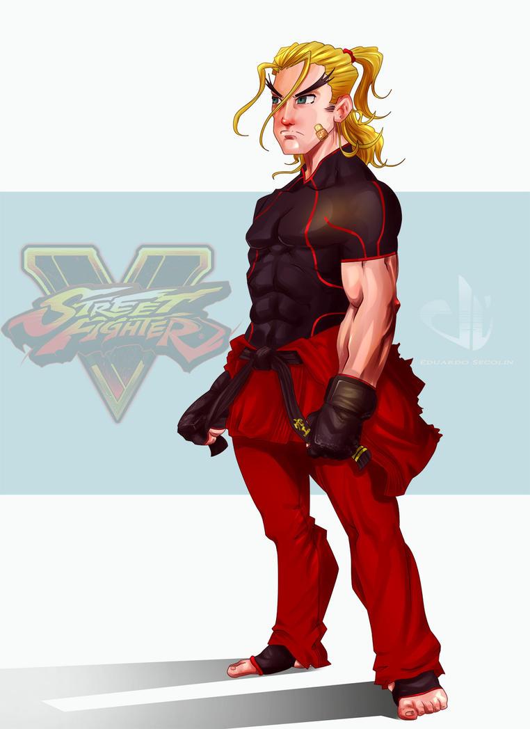 Ken Street Fighter 5 by eduardosecolin