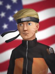 Naruto Trump by Elfios