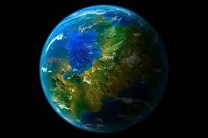 Earthlike Planet 2 by bbbeto