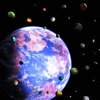 Planet of a Thousand Moons by bbbeto