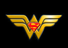 Superman + Wonder Woman logo by bbbeto
