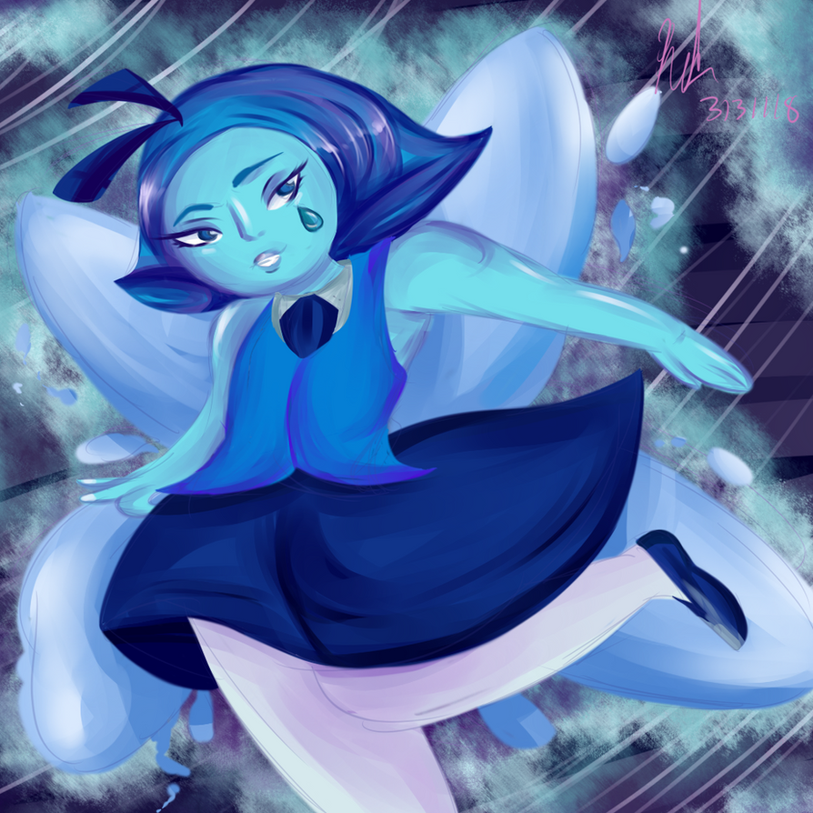 Aquamarine Painting by Sniffy678578