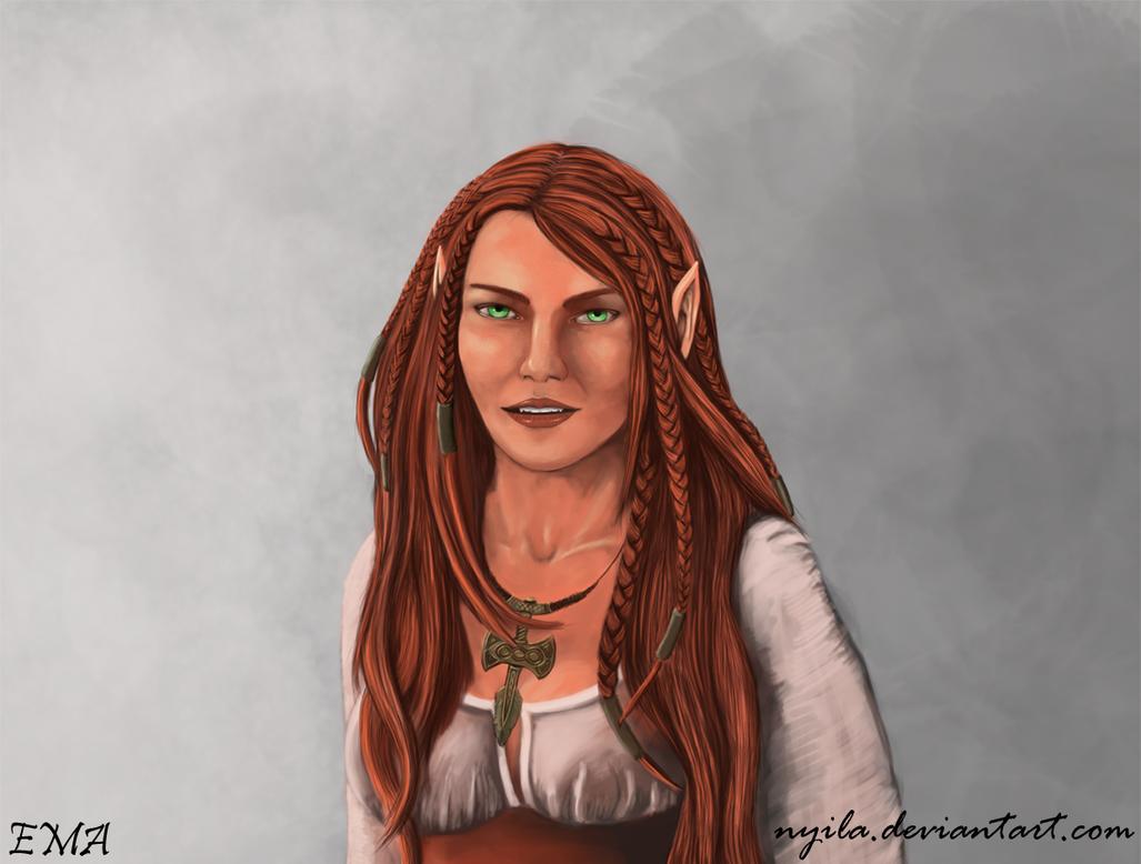 Skyrim - Amelia by Nyila