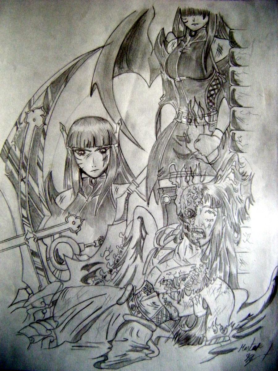angel and demons drawings - photo #16