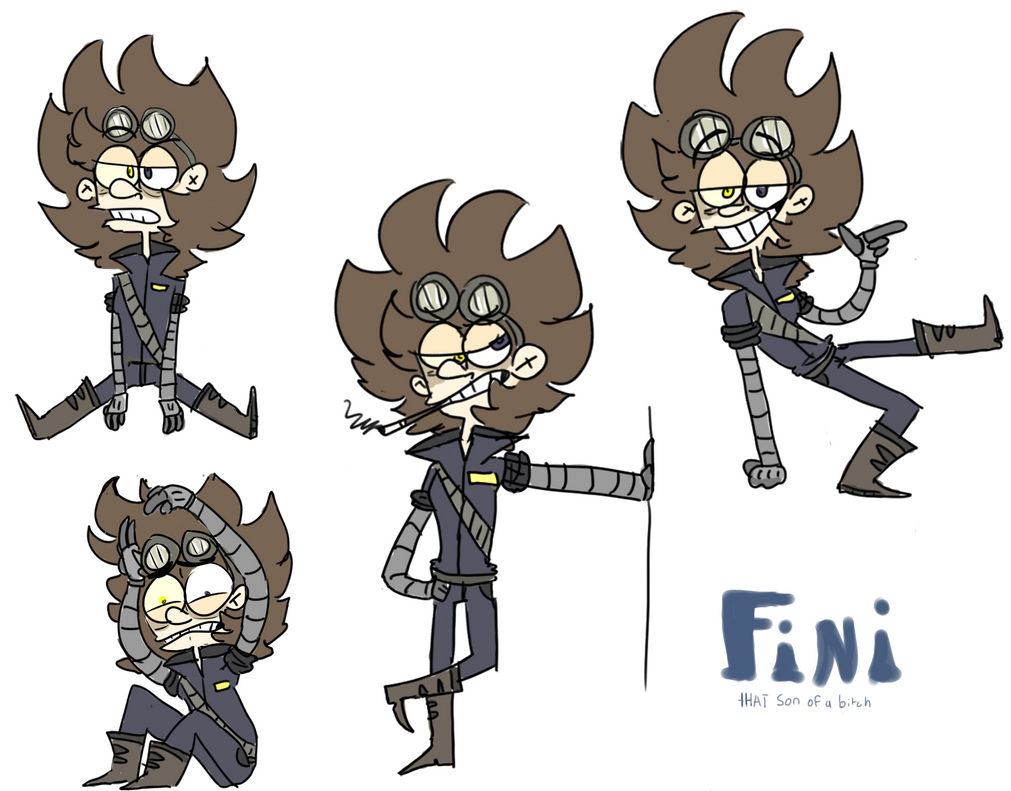 Its a Fini by FunnyboneZ55