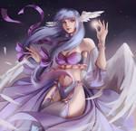 Commission: Galaxy Swan Princess