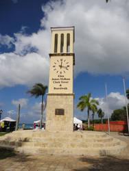Eliza James-McBean Clock Tower ST Croix