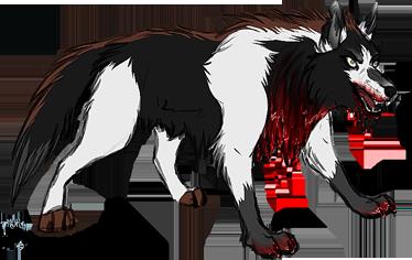 Khorez Haagussha - The Insane Wolf by ThorinFrostclaw