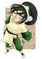 Toph by Mechanictress