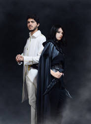 Vin and Elend - Mistborn