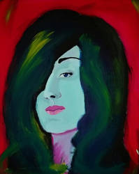 painting of friend