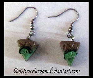 Key Lime Earrings by SinisterSeduction