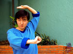 Jackie Chan Cosplay -  I'm ready to fight