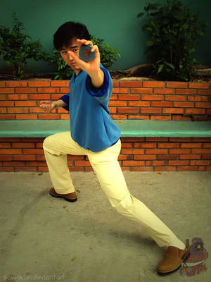 Jackie Chan Cosplay -  Dragon Talisman by SawaKun
