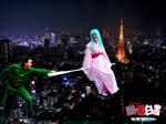 YYH Cosplay: Flying in Tokyo