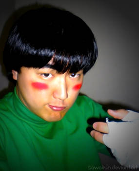Naruto Cosplay: Rock Lee Drunken