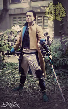 Basara Cosplay: The Right Eye of Dragon