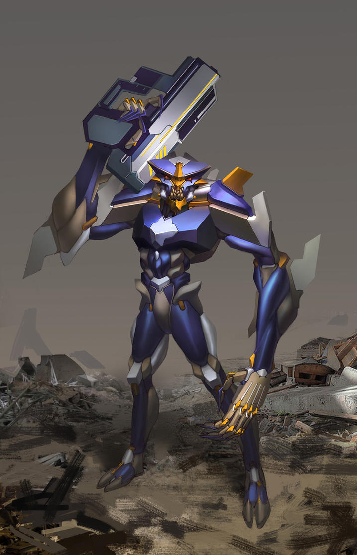 Alien Villan Concept by Eriopsis