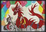 Prince Sombra and his dragon